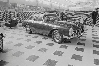 1964 Facel Vega Facel 6, Paris Motor Show - kopie