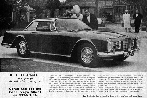 1964 facel vega facel II