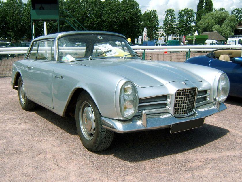 1964 Facel Vega Facel III de 1964, avant.
