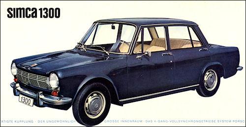 1964 Simca 1300-63