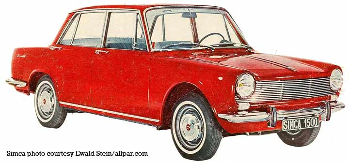 1964 simca 1500
