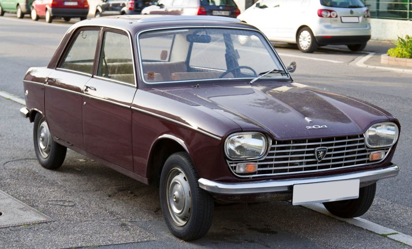 1965 Peugeot 204 Limousine