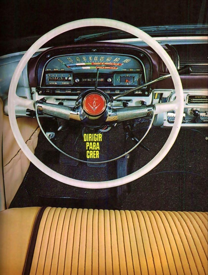 1966 Propaganda Simca Tufão