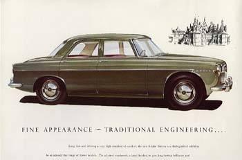 1966 rover 3l mk1b