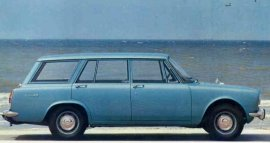 1966 Simca 1500 Break