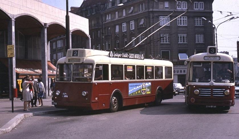 1966 Somua Bus+Trolleybus TCM_Mulhouse
