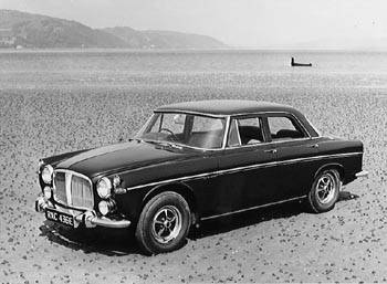 1967 rover 3,5 saloon bw