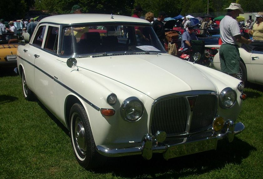 1967 Rover P5 photographed at the 2008 Hudson British Car Show