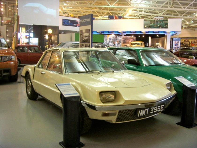 1967 Rover P6BS Prototype