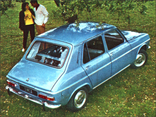 1967 Simca 1100tyl