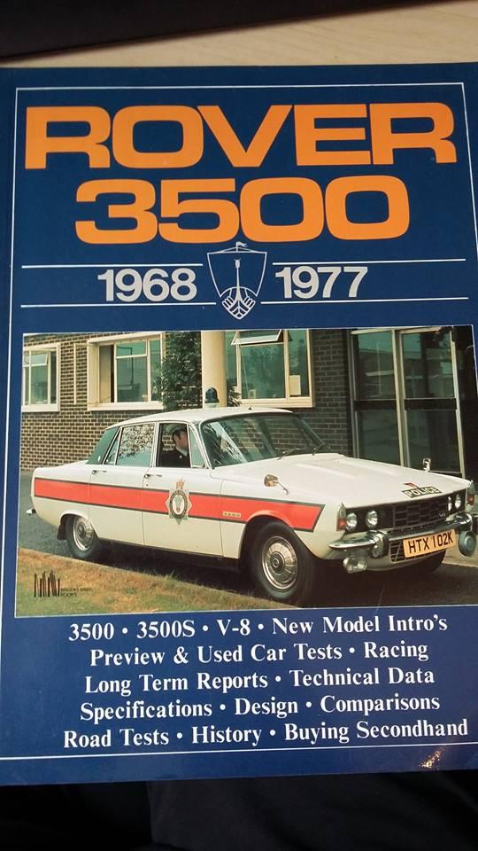 1968-77 Rover 3500 V8 Police Cars