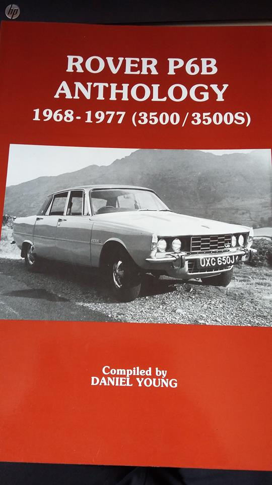 1968-77 Rover P6B Anthology 3500-3500S