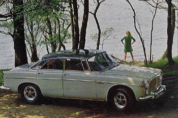 1969 rover 3,5l coupe