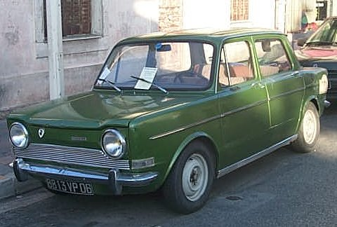 1969 Simca 1000, 1968–1976