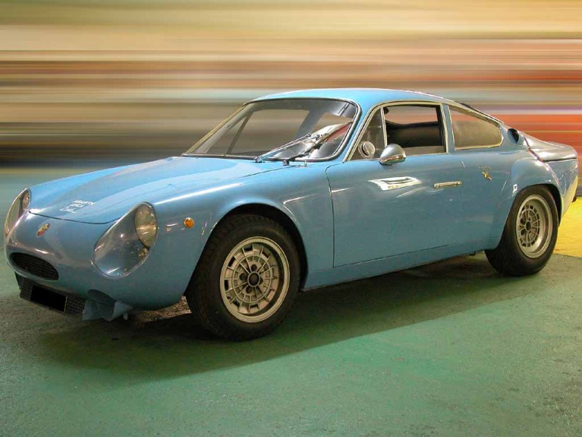 1969 simca Abarth 2000 coupe