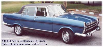 1969 Simca Chrysler GTX