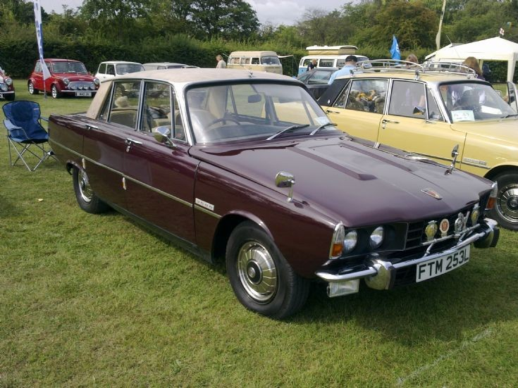 1970 Rover 3.5