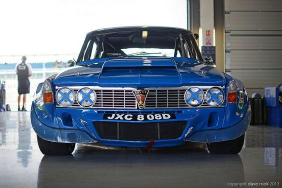 1970 Rover P6B V8 Traco Touring Car