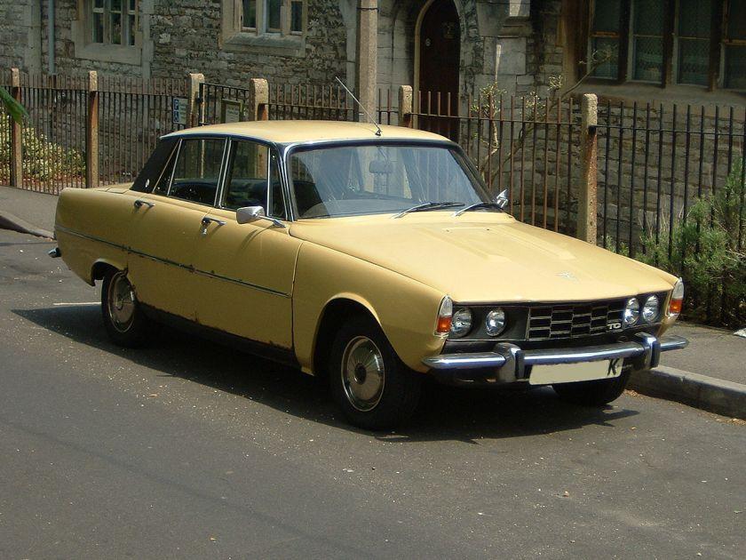 1972 Rover P6, 2000 TC