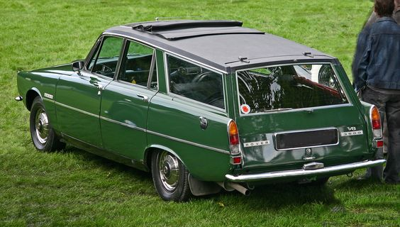 1972 Rover P6 3500 V8 Estate Gr