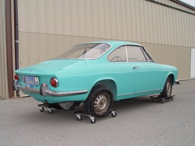 1972 simca 1000 coupe