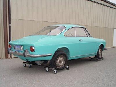 1972 simca 1000 coupe