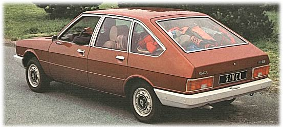 1972 Simca 1308