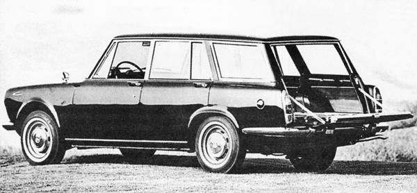 1972 Simca 1501 break speciale a