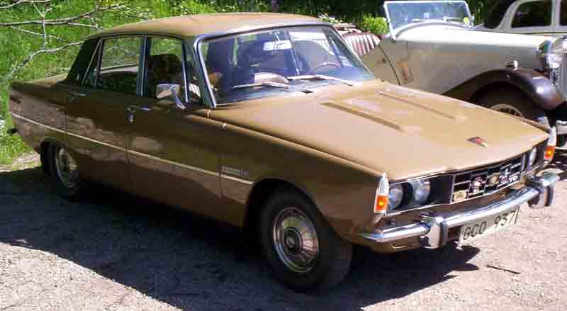 1973 Rover 2000 TC Mark II