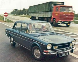 1973 Simca 1301 S