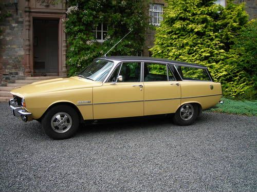 1974 Rover 3500S Estate