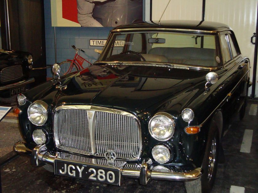 1974 Rover P5B owned by Queen Elizabeth II