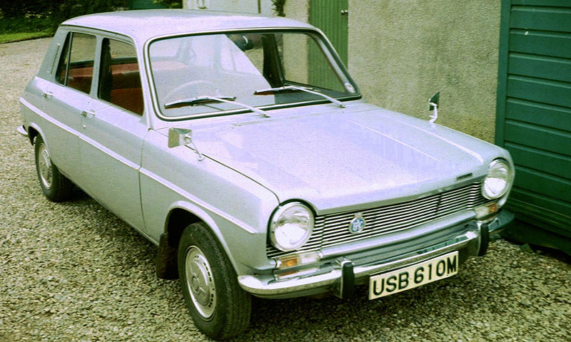 1974 Simca 1100 near Oban