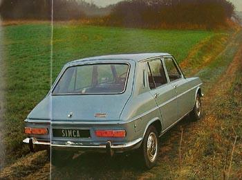 1974 simca 1100a