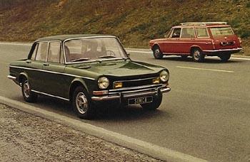 1974 simca 1301 a