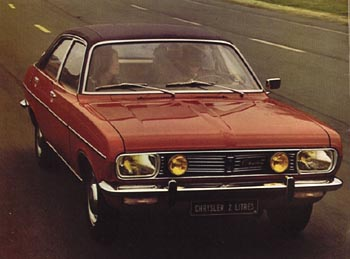 1974 simca chrysler 2l