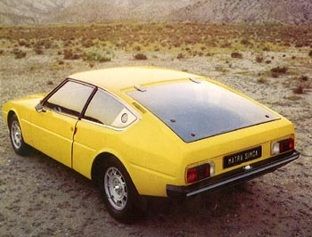 1974 simca matra bagheera -b