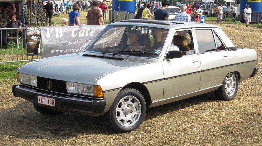 1975-86 Peugeot 604