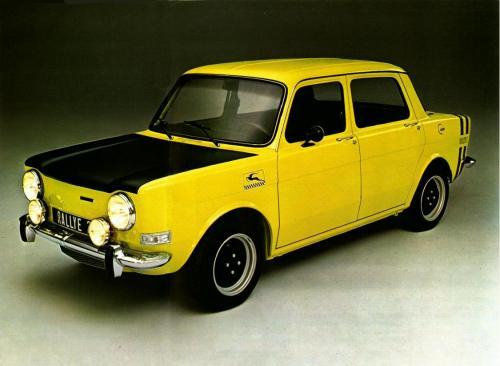 1975 Simca 1000 rally