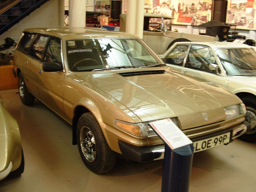 1976 Rover SD1 estate prototype