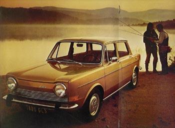 1976 simca 1000 a