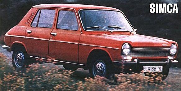1976 simca 1100