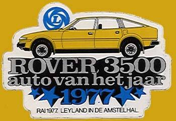 1977 rover 3500 sticker
