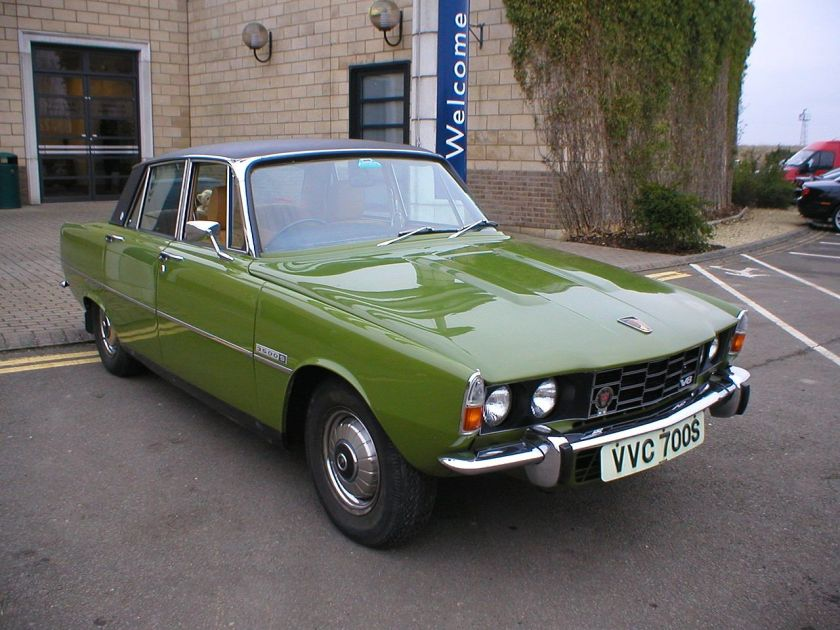 1977 Rover P6 VVC 700S, the last Rover P6 off the production line, with a build date of 19th March 1977