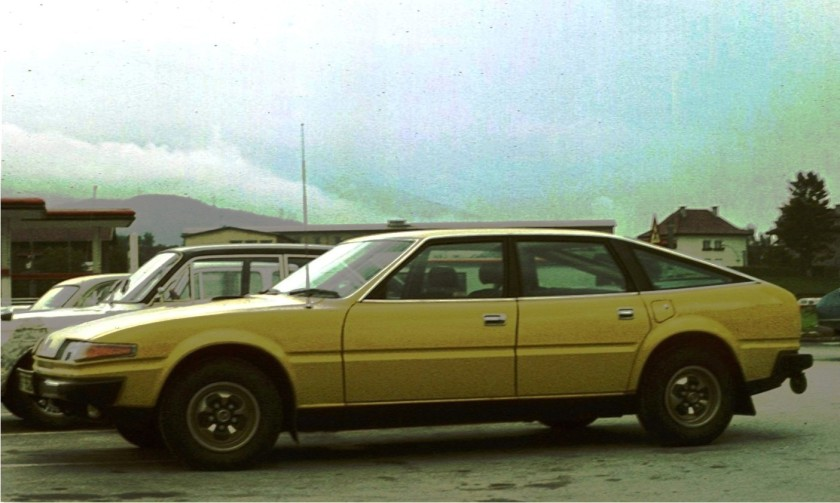 1977 Rover SD1 3500 in Austria