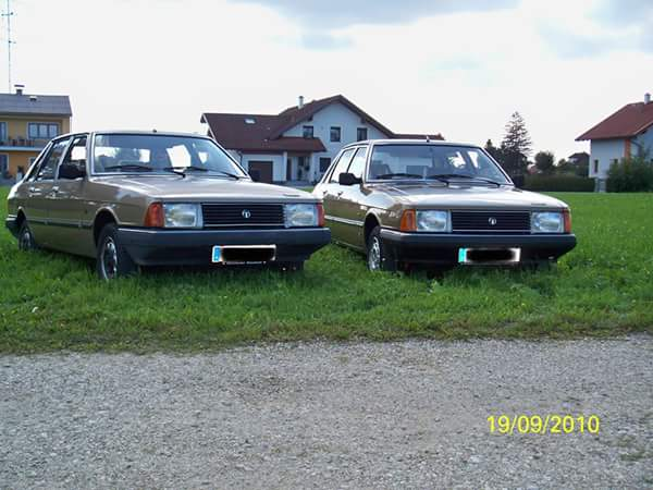 1977 Simca SX and right is a GLS