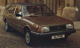 1981 Talbot Alpine SX