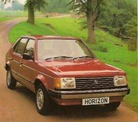 1981 Talbot Horizon