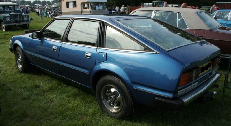 1982 Rover SD1 3500 series1B rear