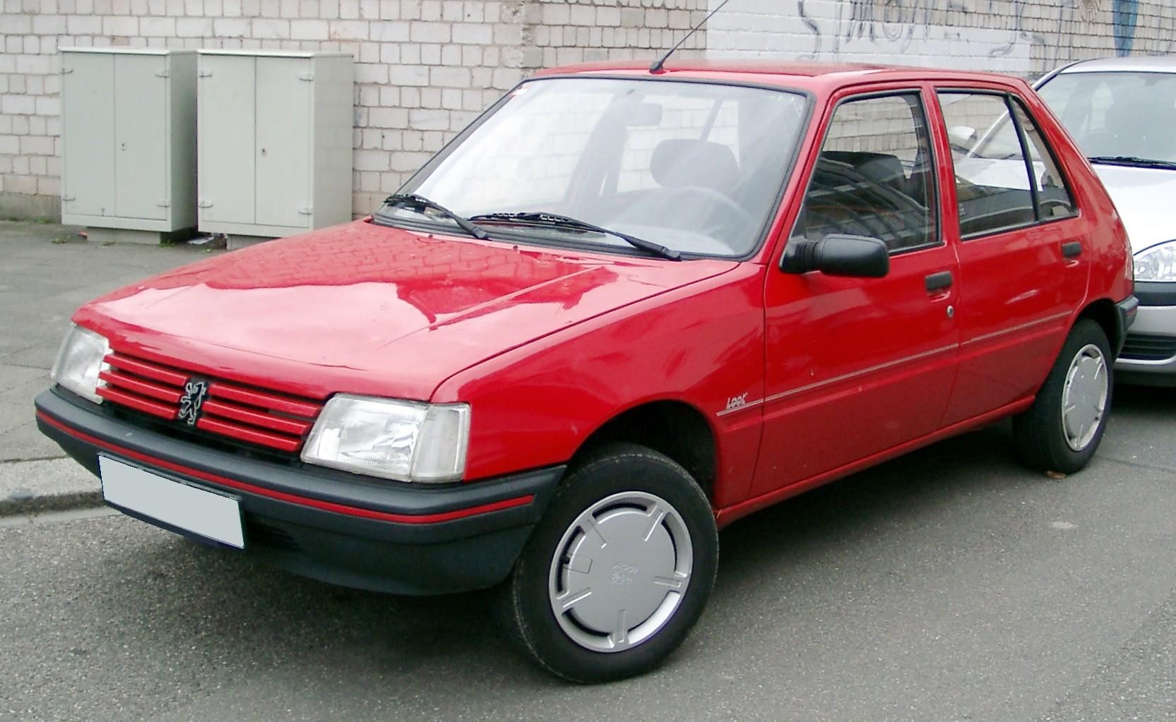 1981 U2013 Talbot Horizon 1985 Peugeot 205